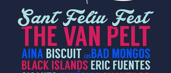 Aina o The Van Pelt el cartell del Sant Feliu Fest