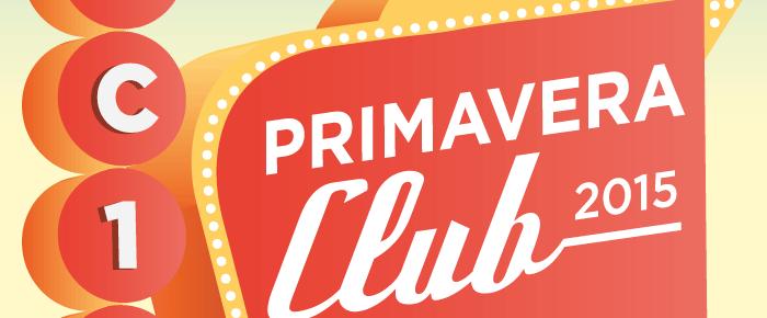 El Primavera Club ja té cartell